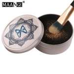 MAANGE Makeup Sponge Tool Color Remover Quick Wash Brush Cleaner Box