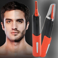 Facial Hair Electric Shaver Grooming Remover Hair Trimmer 2 In 1 Male Switchblade Mustache Beard Eyebrow Hair Trimmer Shaver