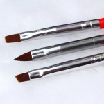 3pcs/set Nail Art Line Painting Pen 3D Tips DIY Acrylic UV Gel Brushes Drawing Kit Flower Line Grid French Design Manicure Tool
