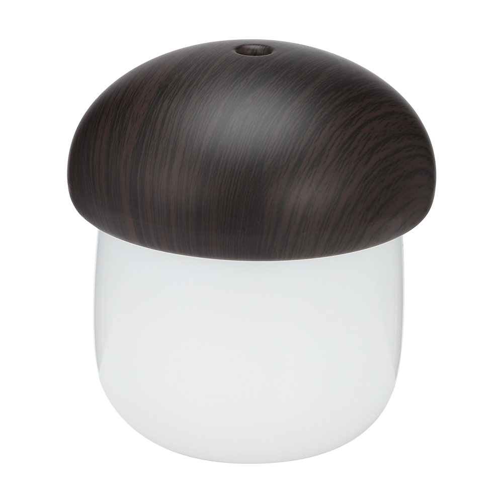 USB Humidifier Desk Personal Air Mushroom Diffuser with Night Light