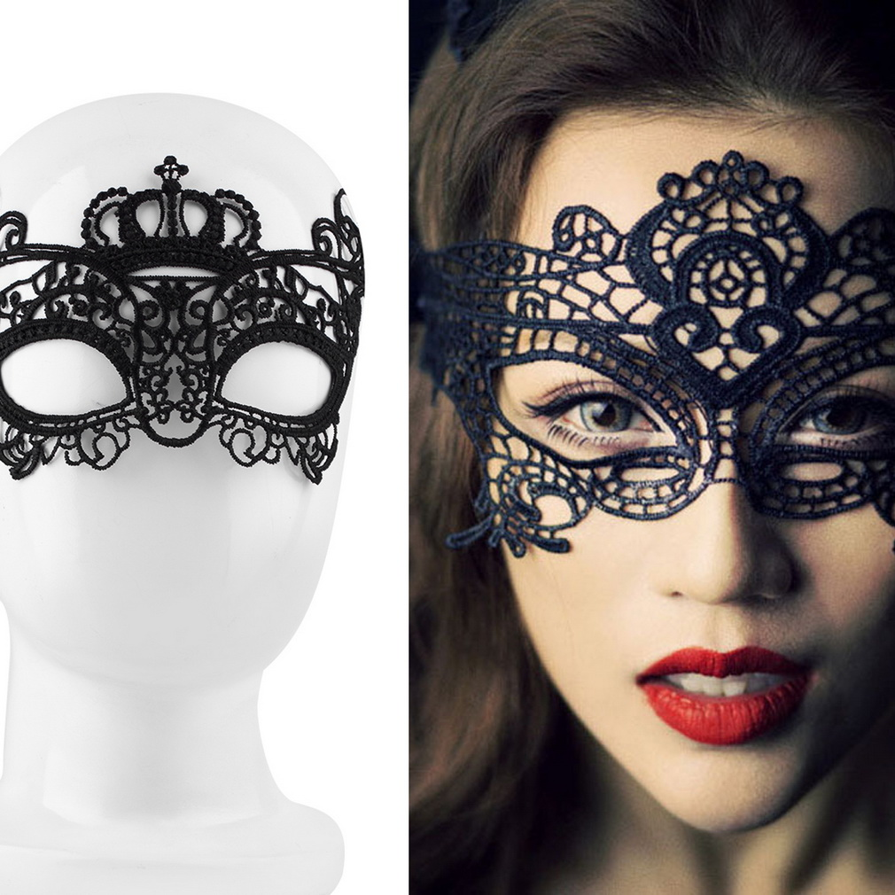 Sexy Lady Lace Mask Eye Mask For Masquerade Ball Party Halloween Costume Drop Shipping