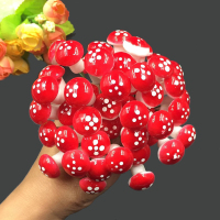 10Pcs/Set Mini Mushroom Miniatures Artificial Garden Fairy Moss Resin Crafts Decorations Stakes Craft For Home 2cm