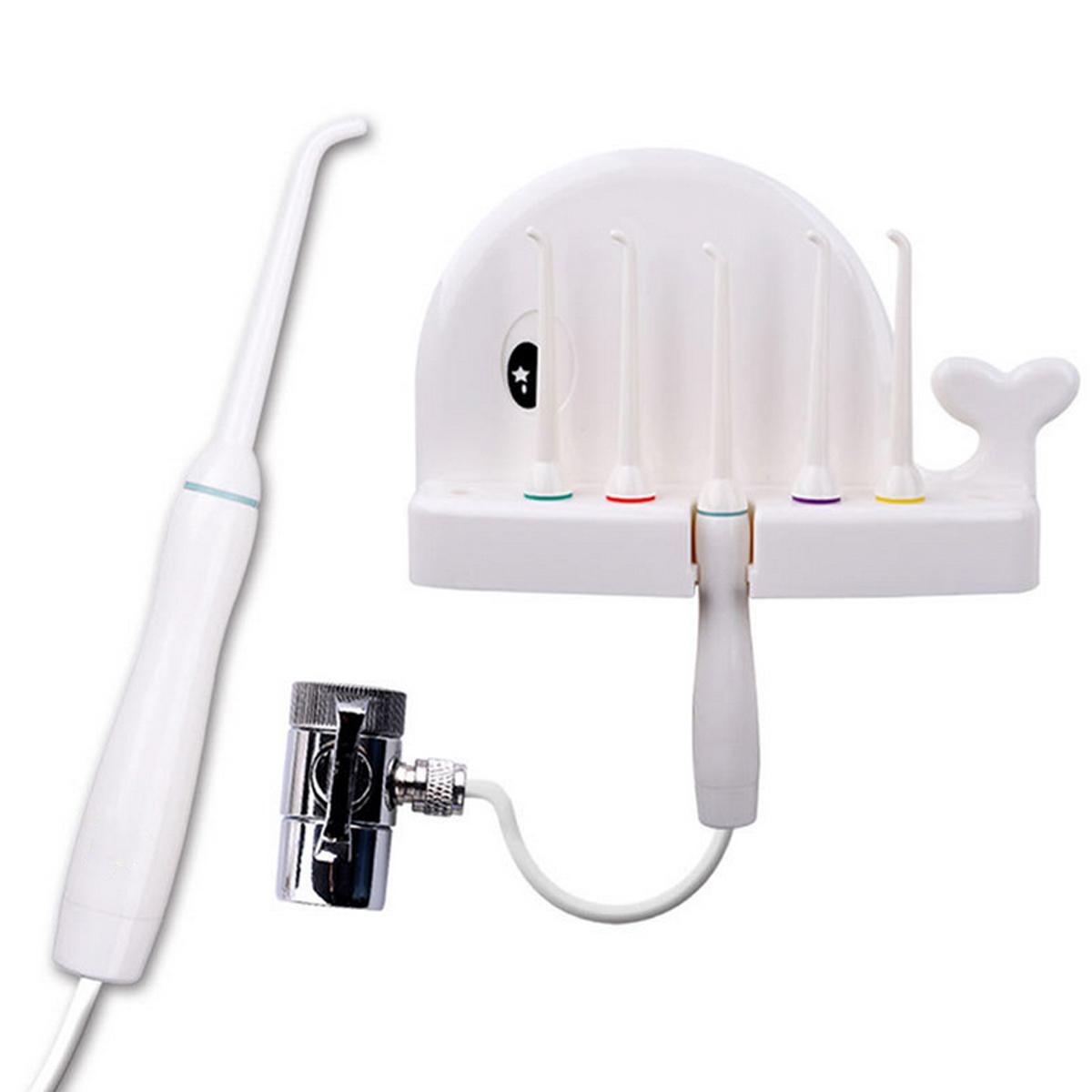 Portable Dental Faucet Water  Oral Irrigator Cordless Dental Water Jet Set Teeth  Water Dental Pick Oral Irrigation