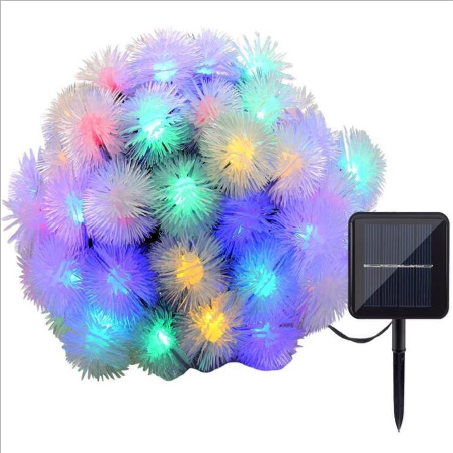 Solar Christmas Lights Waterproof LED Solar Fairy String strip Lights for Outdoor Xmas Party garden Decoration light Solar Lamp