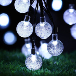 30 LED Multi-Color Ball round Solar Lamp Power LED String Fairy Lights Battery Garlands Garden Christmas Holiday Decor Outdoor