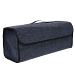 *Multipurpose Car Felt Cloth Folding Storage Box Organizer Case