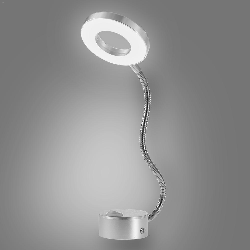 LED hose wall lamp flexible home hotel bedside reading lamp wall lamp modern fashion book lamp aluminum alloy LED bulb