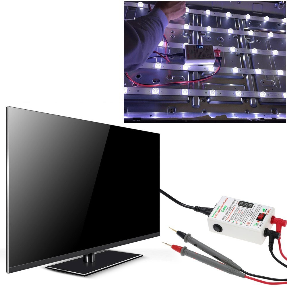 Voltage Test 1mA/30mA Convertible LED Backlight Tester Screen LED LCD TV Back Light Tester Meter Lamp Beads Light Board Test Strip Bead Diode Testing Repair Tool