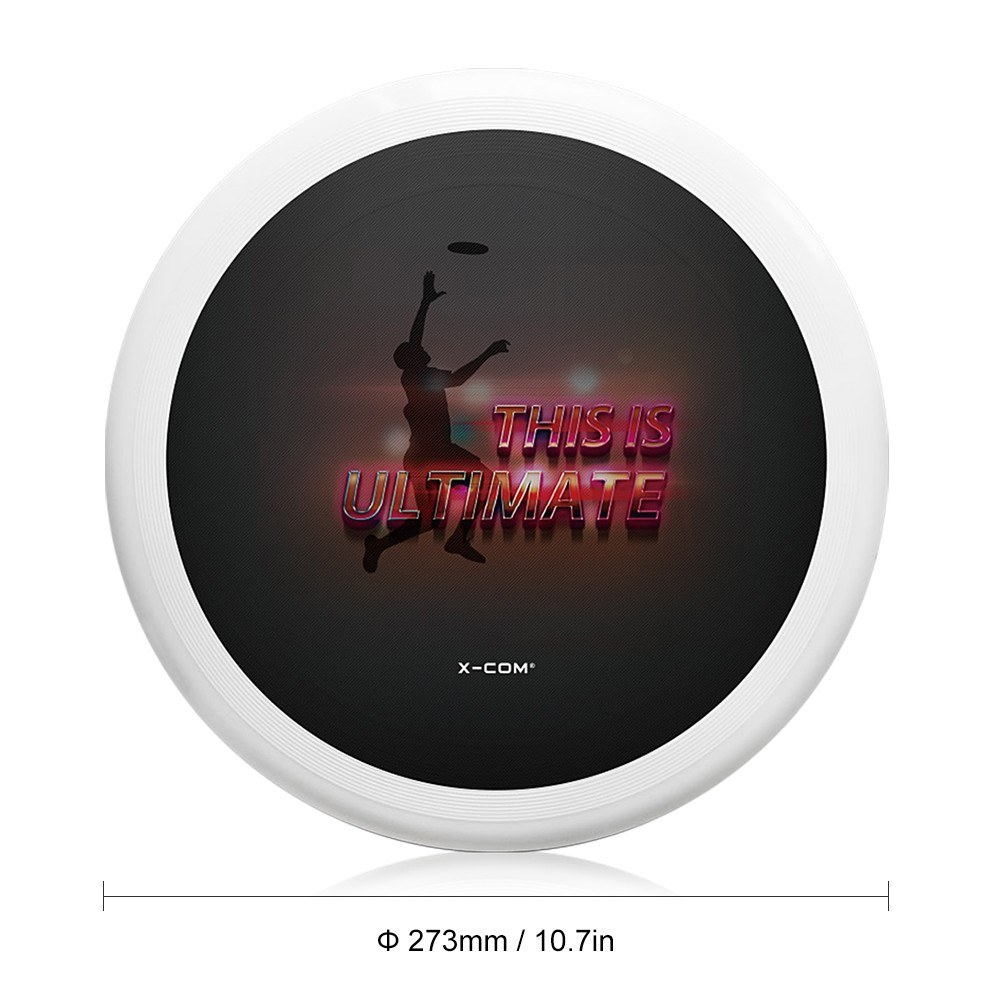 10.7 Inch 175g Plastic Flying Discs Outdoor Play Toy Sport Disc