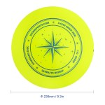 9.3 Inch 110g Plastic Flying Discs Outdoor Play Toy Sport Disc for Juniors
