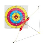 1:1.8 Archery Shooting Bow and Arrow for Kids Outdoor Hunting Game Suction Cup Arrows Target Quiver Outdoor Garden Fun Game