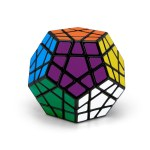 Megaminx Speed Cube Magic Cube Dodecahedron Sticker Cube Puzzle Cube for Beginners Kids