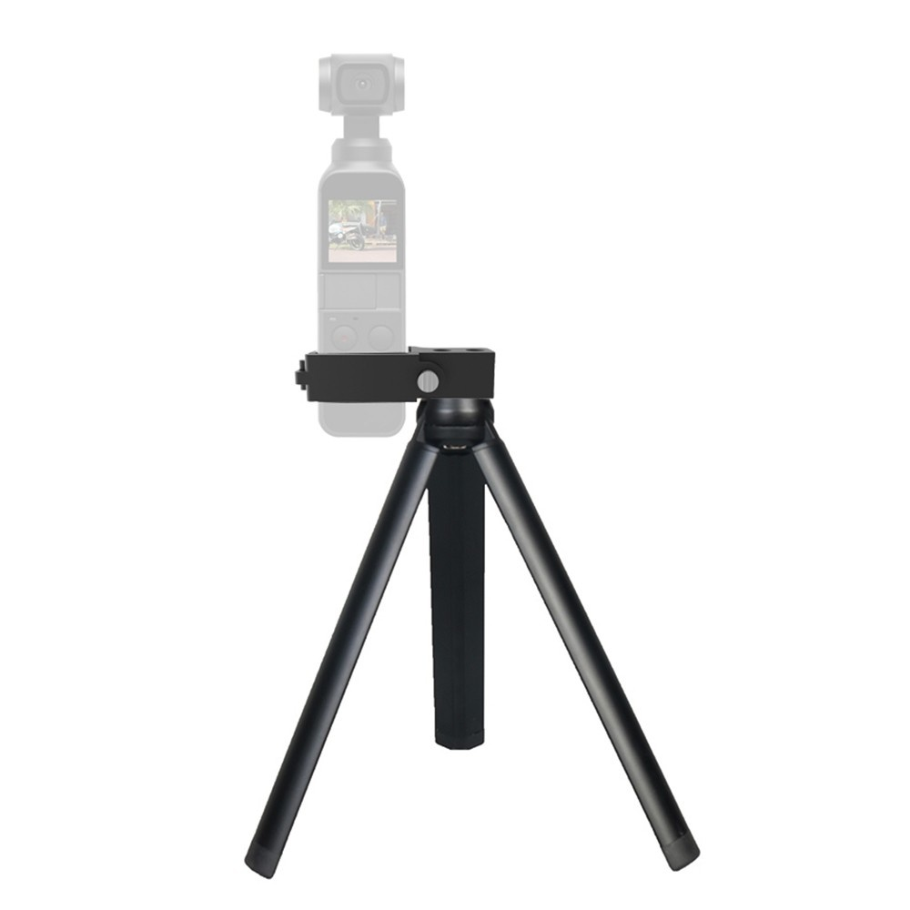 Mini Desktop Metal Tripod Stand + Camera Holder Kit