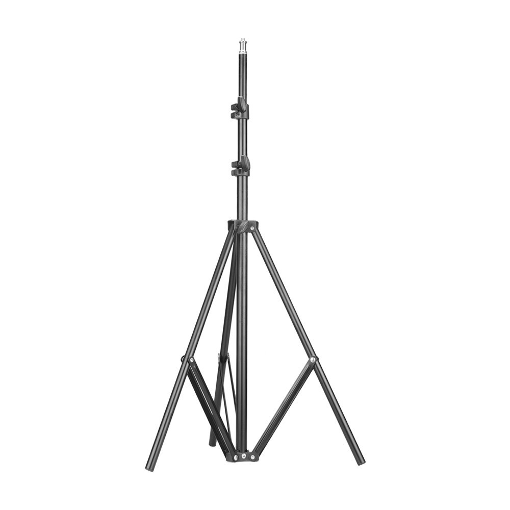 Adjustable Photography Tripod Light Stand Steel Material Max. Height 176cm / 5.8ft with 1/4 Inch Screw for Studio Reflector Softbox LED Video Light Umbrella