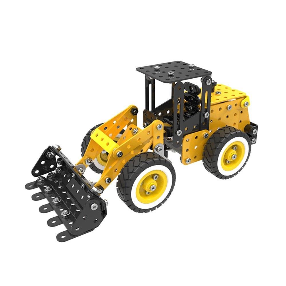 332Pcs Autoloader Intelligent Construction Set 3D Stainless Steel Model Kit DIY Gift Model Building Educational Toys