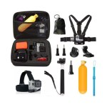 10 in1 Straps Accessories Kit for GoPro Hero 5 4 Session 3+ 3 YI Action Camera