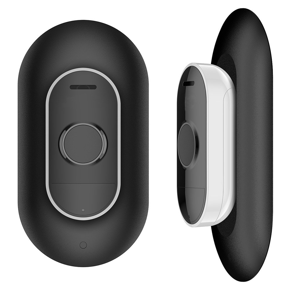 Wall Plate for Arlo Audio Doorbell, Wall Mounting Plate Accessories for Arlo Doorbell to Keep an Easy Installation and Clean Look, Black