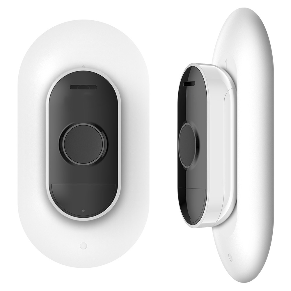 Wall Plate for Arlo Audio Doorbell, Wall Mounting Plate Accessories for Arlo Doorbell to Keep an Easy Installation and Clean Look, White