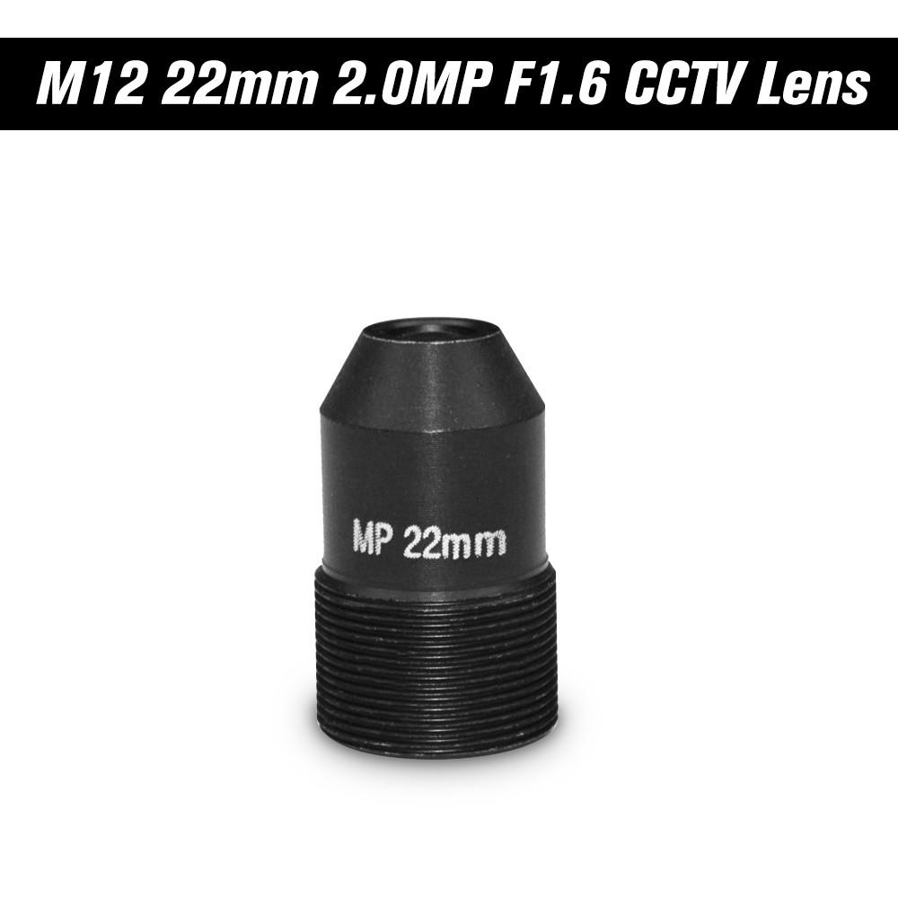 HD 2.0Megapixel Pinhole 22mm Lens CCTV MTV Board Lens M12 Mount Lens 1/2.7