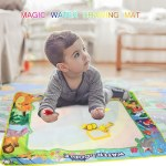 Magic Water Drawing Mat Coloring Water Painting Doodle Carpet for Kids Children Birthday Gift