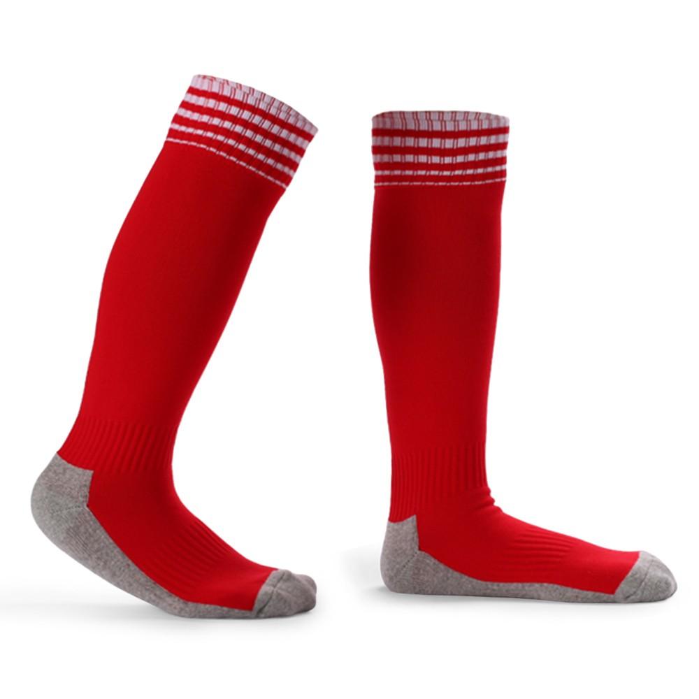 Kid's Breathable Football Socks High Tube Socks Boys Girls Over Knee Sports Socks