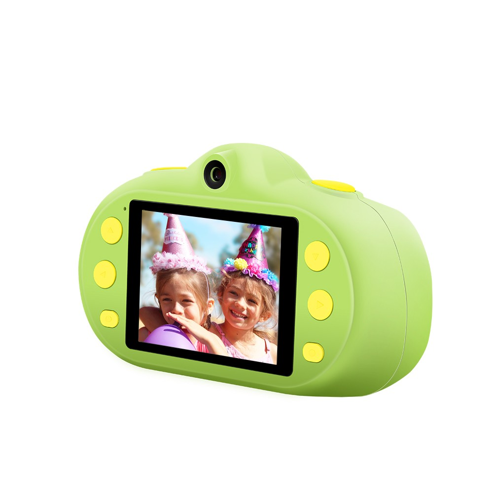 12MP 1080P HD Kids Children Camera Mini Digital Camera 2.4 Inch LCD Screen Dual Lenses with Photo Video MP3 Game Modes