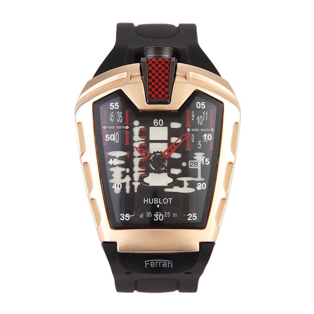 Multi-Functional Sport Wrist Watch Men Fashion Cool Silica Gel Band Quartz Watch