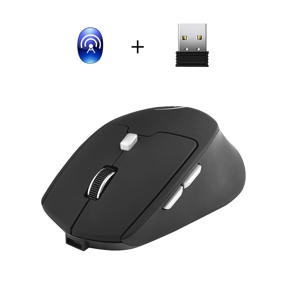 G823 Dual Mode Optical Computer Mouse Wireless 2.4G 2400DPI Portable Recharge Gaming Mouse Mice for Mac