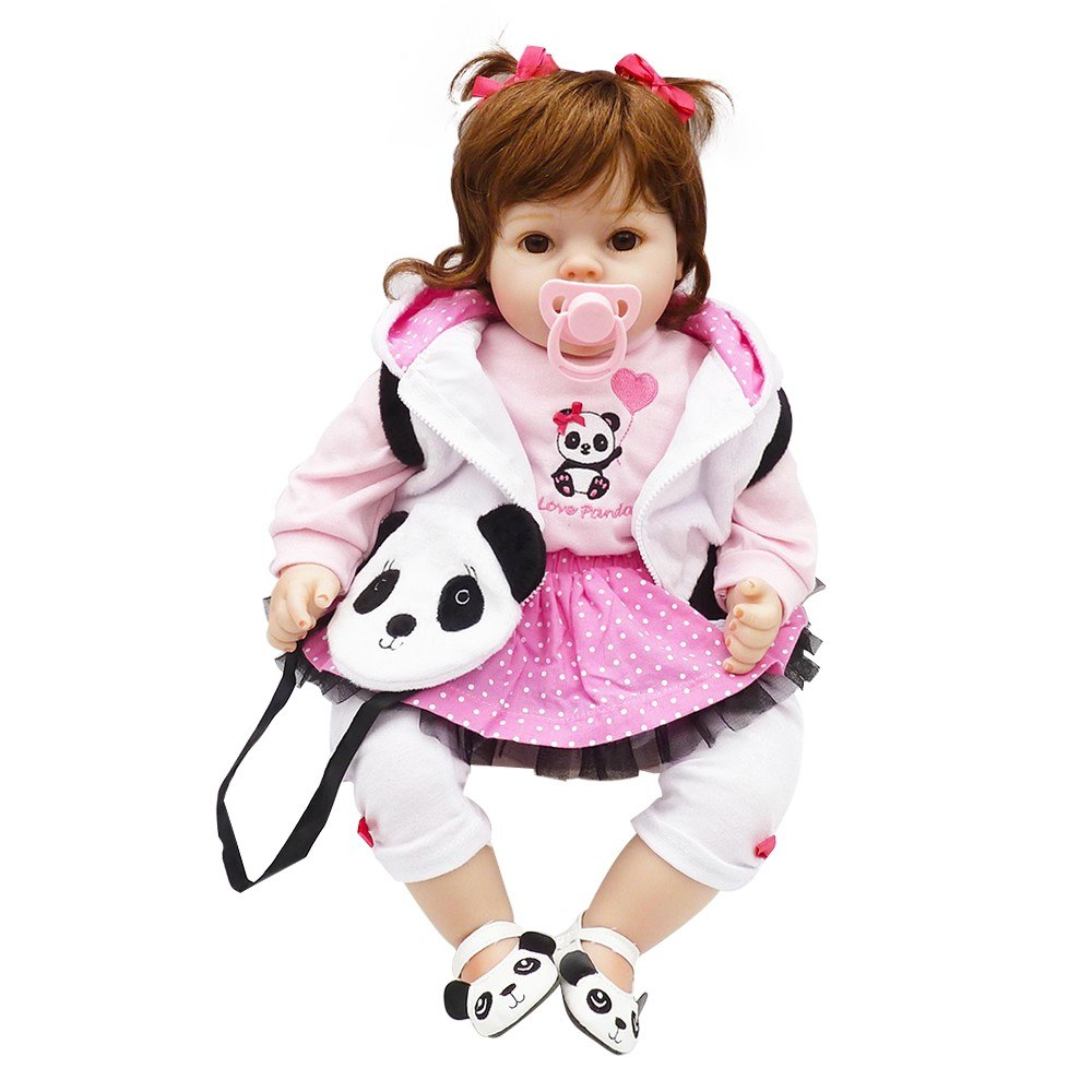 20in Reborn Baby Rebirth Doll Kids Gift Cloth Material Body