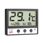 LCD Digital Fish Tank Aquarium Thermometer Water Temperature Meter °C/°F High/Low Temperature Alarm