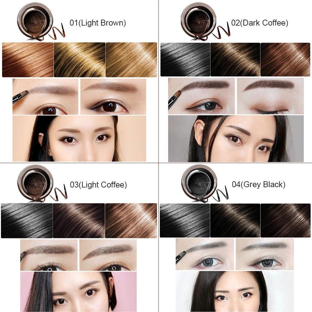 Eyebrow Dyeing Gel Cream Waterproof Long Lasting 24 Hours Natural Pigment Eyebrows Tint Makeup Cosmetic Tool