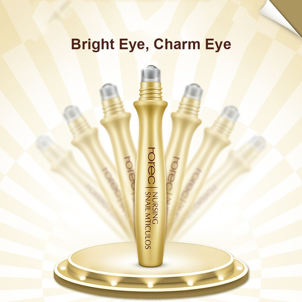 Eye Cream Ball Roller Anti-Puffiness Remove Dark Circle Serum Eyes Bag Fine Lines Anti-Wrinkle Anti-Aging Essence Eye-caring Gel