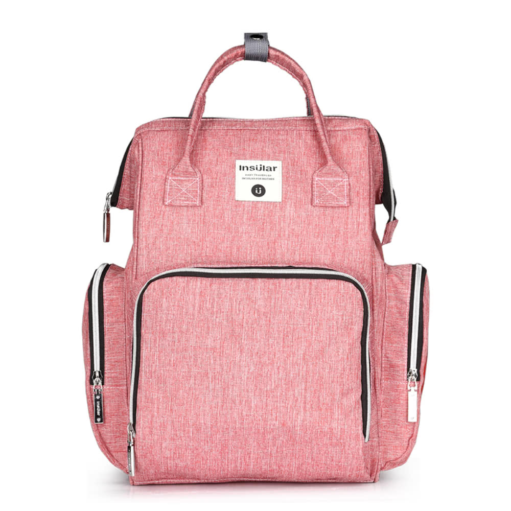 Baby Diaper Bag Backpack Large Capacity Fashion Mummy Nappy Bag Nursing Bag Travel for Baby Care