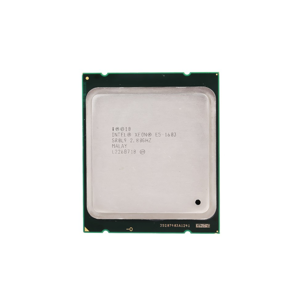 Intel XEON Processor E5-1603 10M High Speed 2.80GHz 0.0 GT/s Intel QPI (Used/Second Handed)