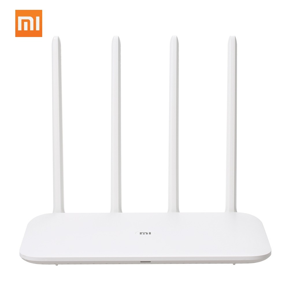 Xiaomi Mi WiFi Router 4 2.4G/5G 1167mbps 128MB 4-antennas Large Coverage Through-wall Dual Band 128MB Flash Network Extender WiFi APP Control Routers for Home Office Gaming
