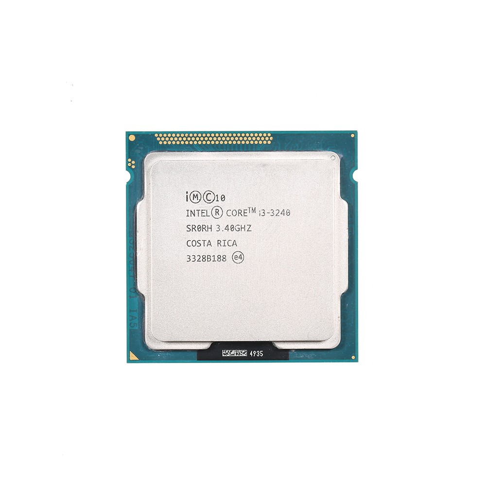 Intel Core i3-3240 Dual-Core Processor 3.4GHz 3MB Cache LGA 1155 (Used/Second Handed)