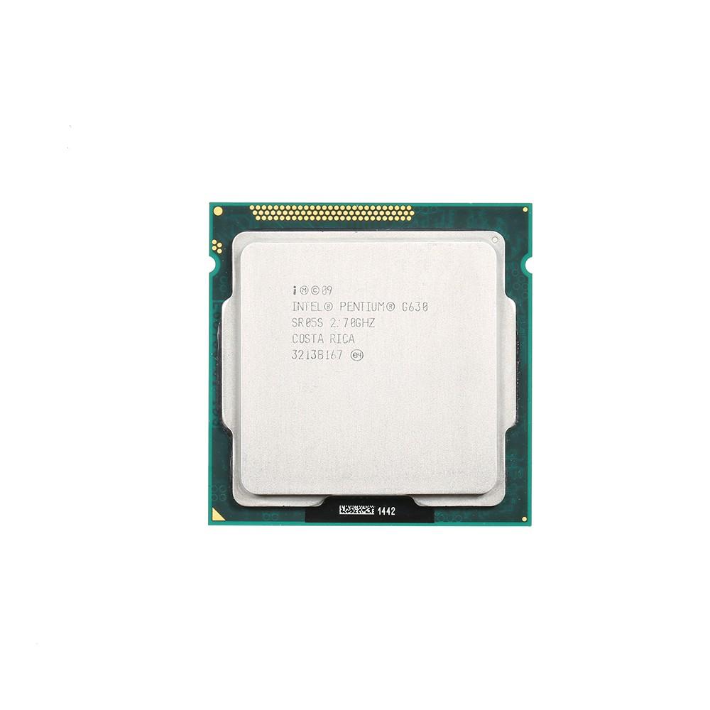 Intel Pentium Dual-Core Processor G630 2.7Ghz 3MB Cache LGA 1155 (Used/Second Handed)