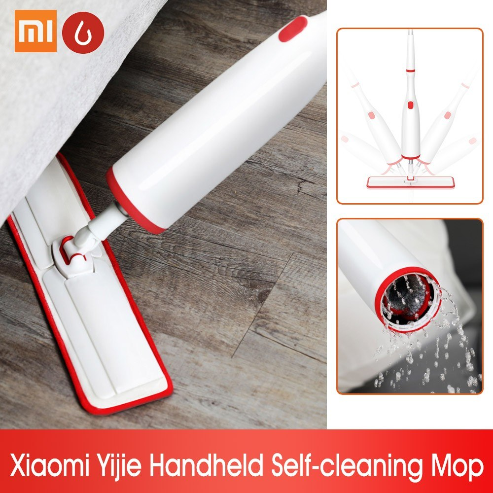 Xiaomi Yijie Mopper Roller Self-cleaning Hand Held Portable Sweeper Sweeping Machine Household Cleaner   360 Degree Rotating Home Floor Cleaning Tools
