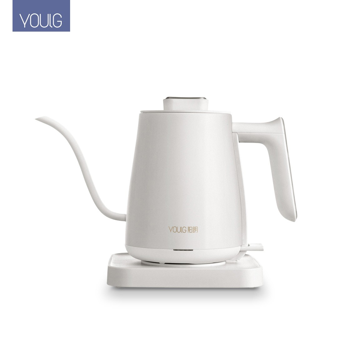 Xiaomi YOULG Water Kettle Electric Coffee Pot Instant Heating Temperature Control Auto Power-off Protection Wired Teapot 220V
