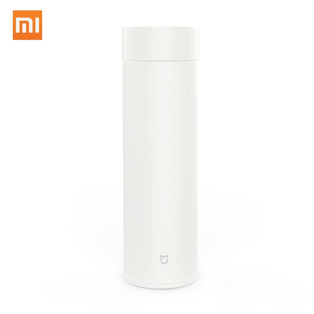 Xiaomi 17oz Mi Vacuum Flask 316L Stainless Steel Leak Proof Sports Water Bottle 12 Hours Warm/Cold Keeping Thermos 500ML Portable Insulated Travel Mug Perfect Gift for Kids Women Men