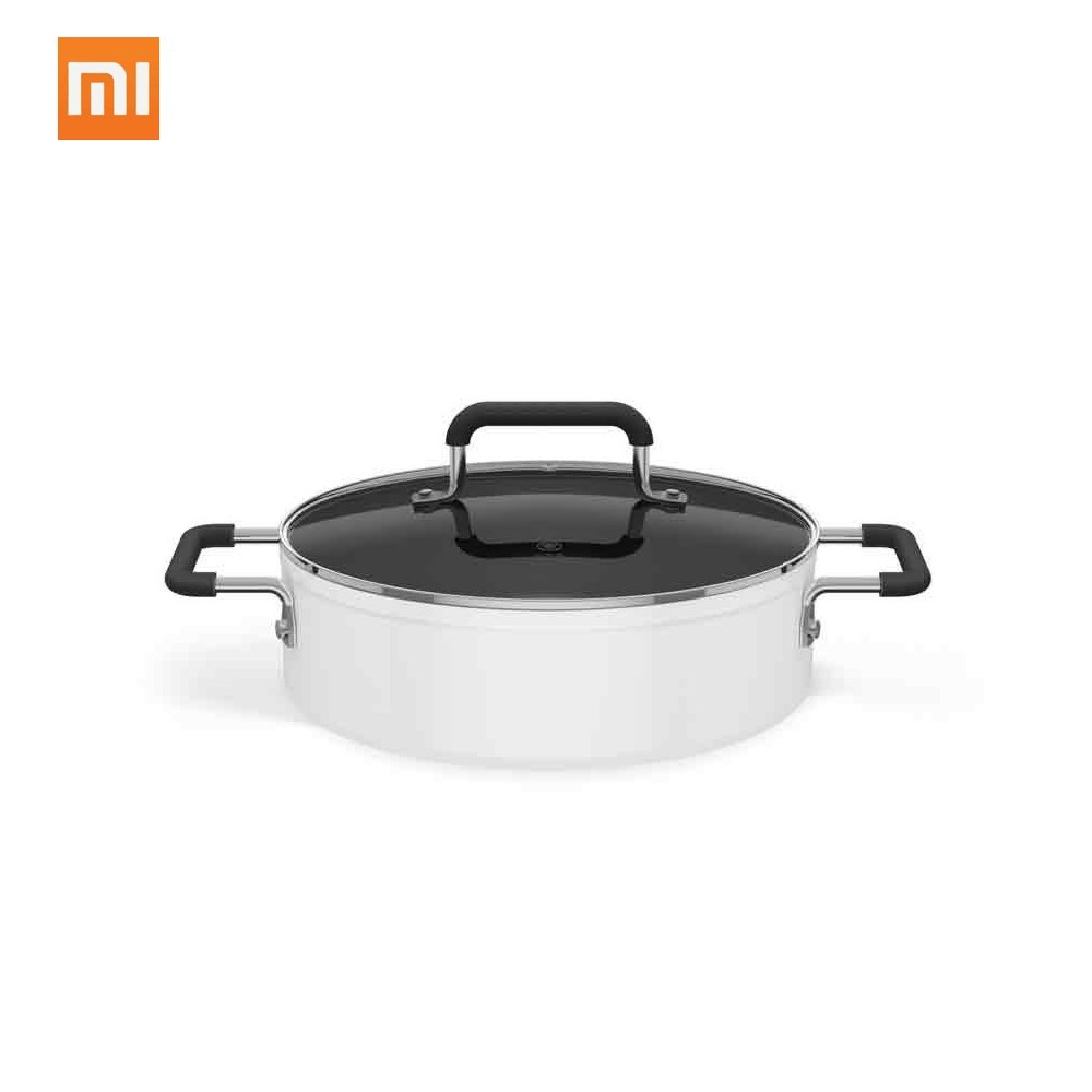 Xiaomi Mijia Non-Stick Stockpot 4L Dishwasher Safe Aluminum Covered Soup Pot Mi Home For Induction Cooker
