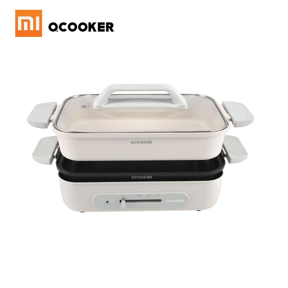 Xiaomi OCOOKER Pot Fryer Pan Grill Frying Non-stick Cooker