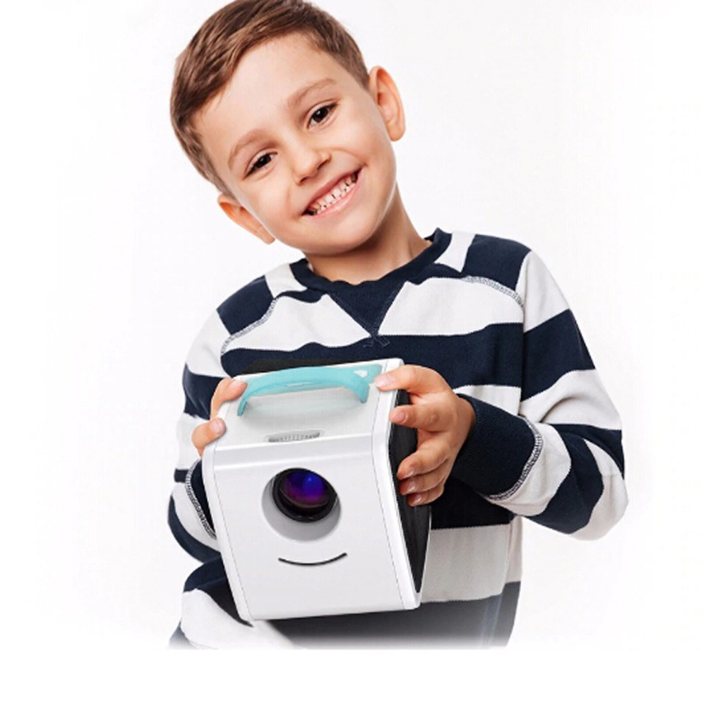 Q2 Mini Portable LCD Projector Kid's Toy Home Theater 1080P