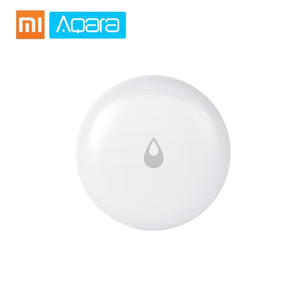 Xiaomi Aqara Water Leak Sensor Smart Wireless Flood Water Immersing Leakage Leak Detector Alarm Sensor Waterproof App Remote Control Mijia Smart Home Security
