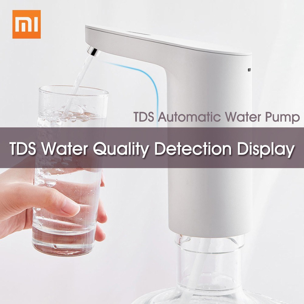 Xiaomi XiaoLang TDS Automatic Water Pump Touch Switch Mini Wireless USB Rechargeable Electric Dispenser Bottle Drinking Water Pump