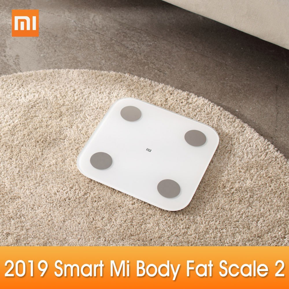 New Xiaomi Mi Body Composition Scale 2 Smart Fat Weight Health Scale BT 5.0 Balance Test 13 Body Date BMI Weight Scale LED Digital Display Mi Fit APP Data Analysis
