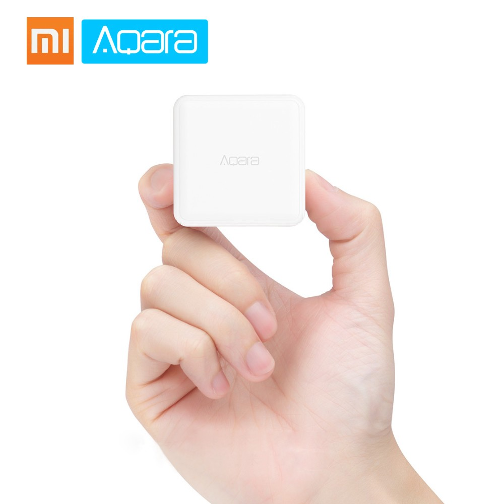 Xiaomi Aqara Magic Cube Remote Controller Sensor Six Actions Zigbee Version Work with Gateway for Xiaomi Smart Home Kits Mi Home APP