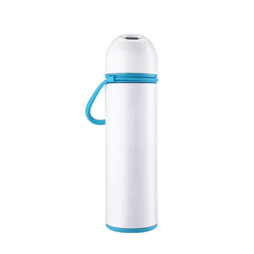 304 Stainless Steel Vacuum Thermos Cup Smart Temperature Display Screen Simple Intelligent Thermal Water Bottle Cooler Beer Beverage Drink Holder