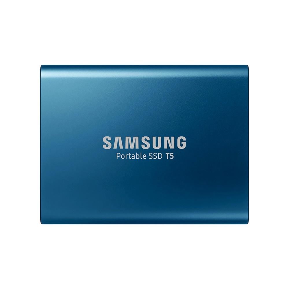 SAMSUNG 250GB Type-c USB3.1 Portable SSD T5 Max 540MB/s Transfer Speed (Blue)
