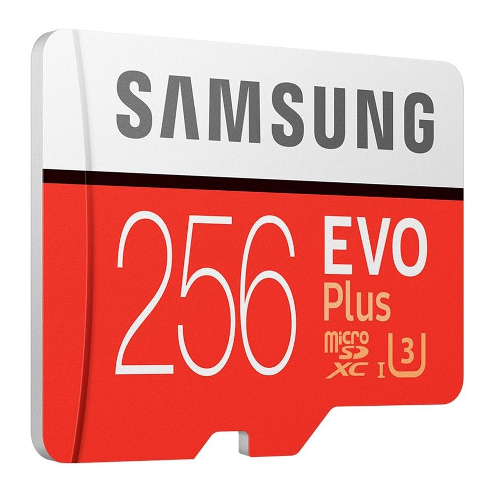 SAMSUNG Memory Storage Card 32GB/64GB/128GB/256GB 95MB/S 4K Class10 Micro SD Cards Red Plus U3 256GB